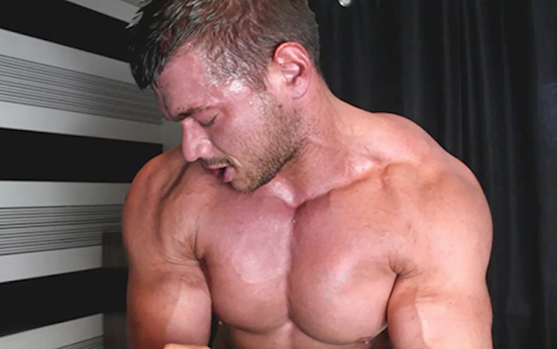Muscle wank with Joshua Armstrong - Muscle Control 4