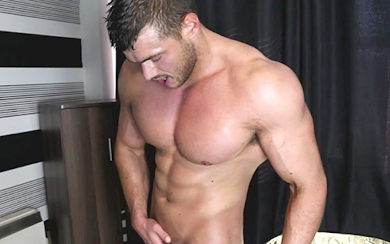 Muscle wank with Joshua Armstrong - Muscle Control 5