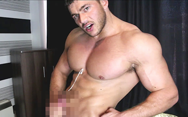 Muscle wank with Joshua Armstrong - Muscle Control 7