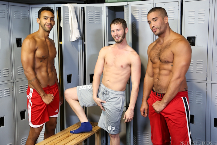 Competitive Big Dicks - Trey Turner & Jay Alexander & Asher Devin 2