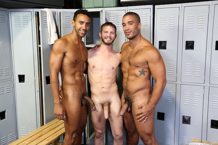 Competitive Big Dicks - Trey Turner & Jay Alexander & Asher Devin 3
