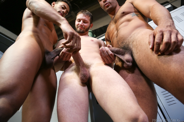 Competitive Big Dicks - Trey Turner & Jay Alexander & Asher Devin 4
