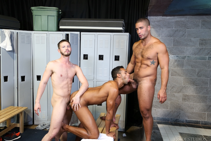 Competitive Big Dicks - Trey Turner & Jay Alexander & Asher Devin 8